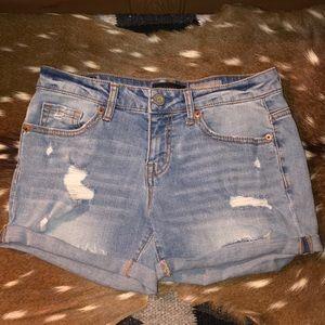 Aeropostale White Wash Shorts